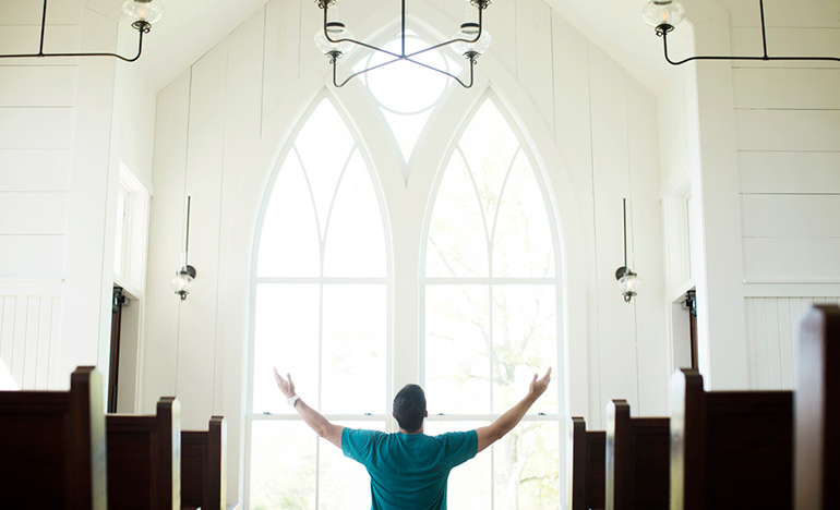 Prayer in the Father's House
