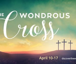 "The ""Wondrous Cross"""