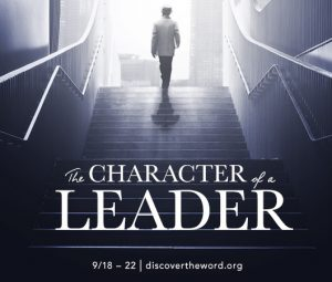 Developing the character of a leader that God can use