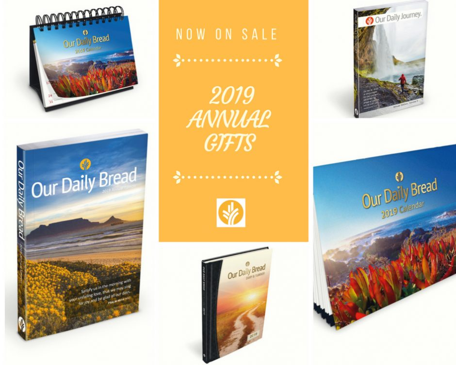 our daily bread 2018 annual gift edition