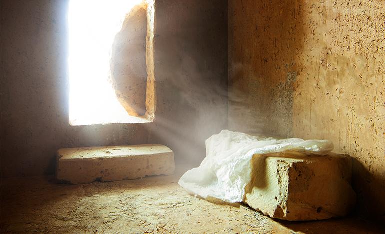 "Jesus said, ""I am the Resurrection and the Life"""