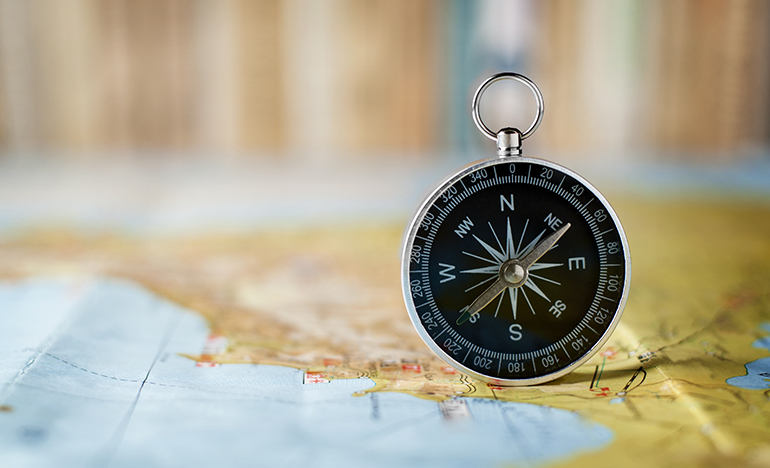 The Compass and The Map